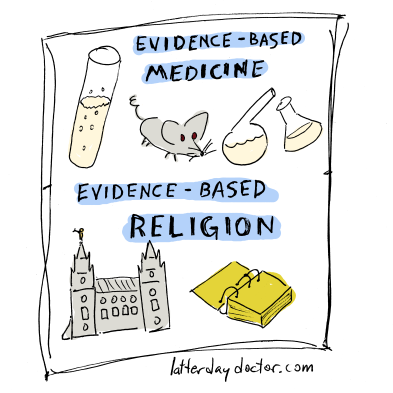 evidence-based religion