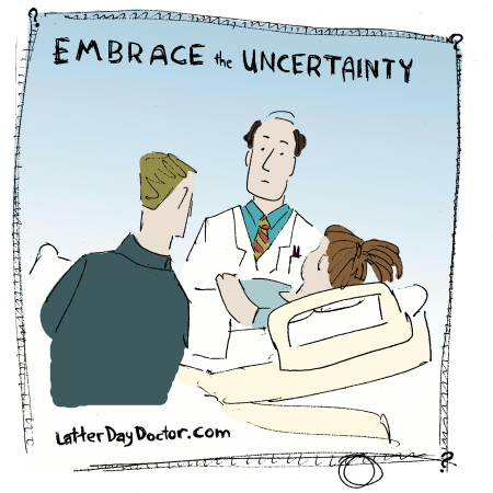 Embrace the Uncertainty