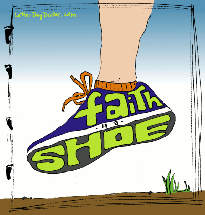 Faith is a Shoe