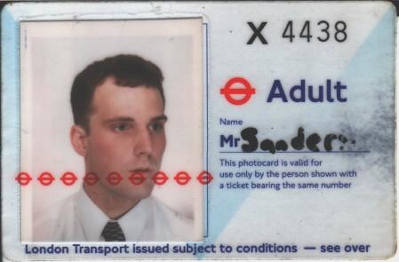 London Transport card